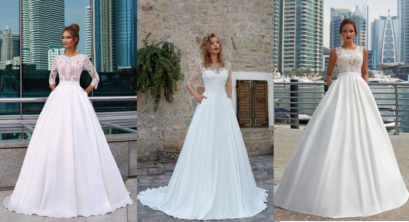 How to Choose Wedding Dresses With Pockets?