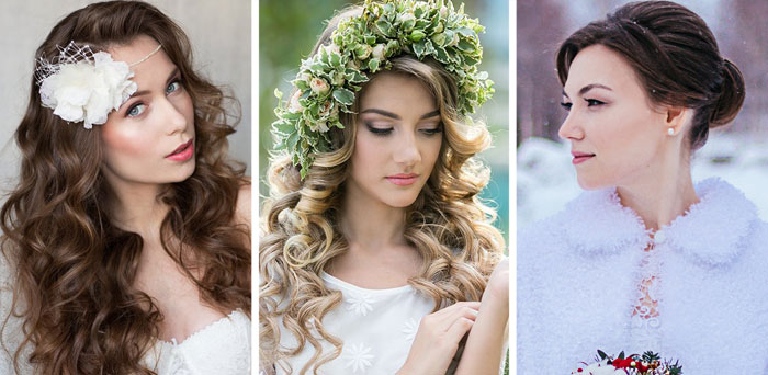 How to choose a hairstyle for a wedding?