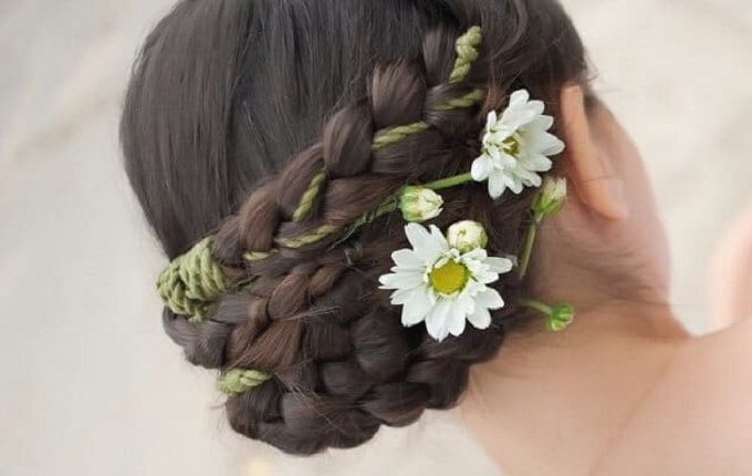 Woman Wedding Hairstyles for Curly Hair