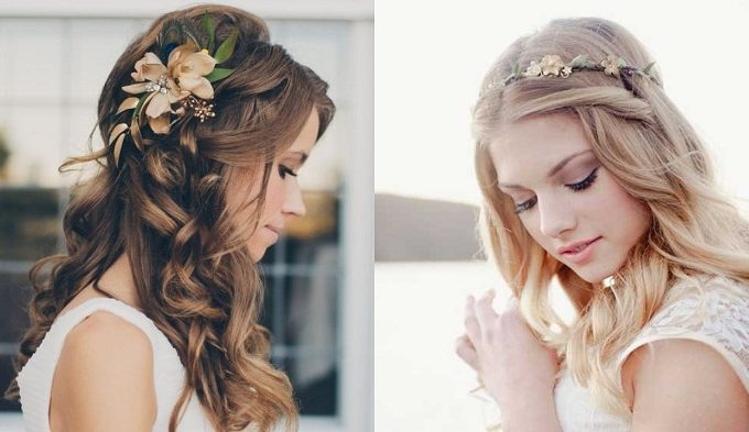 Gorgeous and Breezy Beach Wedding Hairstyles Bride and Groom