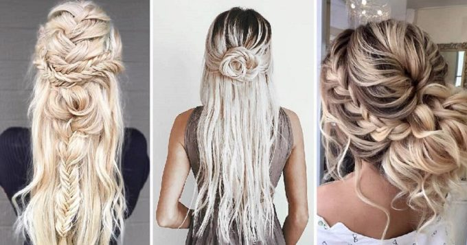 6 Trending Wedding Hairstyles With Braids for Brides