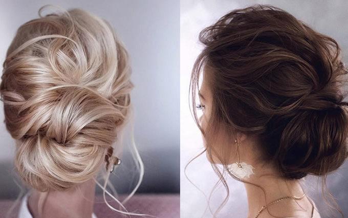 Elegant Updo Hairstyles 2019