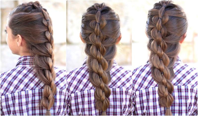 Fashionable Fishtail Hairstyle
