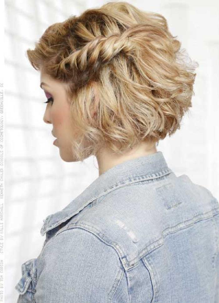Original Evening Hairstyles For Short Hair