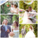Soap Bubbles For A Wedding