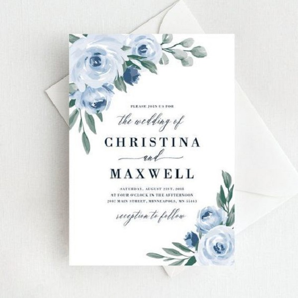 classic wedding invitation cards 4