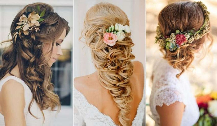 Brides Wedding Hairstyles for Long Hair