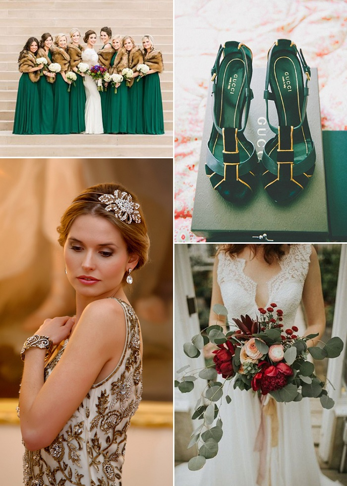 Accessories for a winter wedding